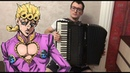 JoJo's Bizarre Adventure Golden Wind OP Fighting Gold Accordion Cover