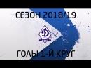 Голы брянского Динамо в первом круге сезона 2018 19