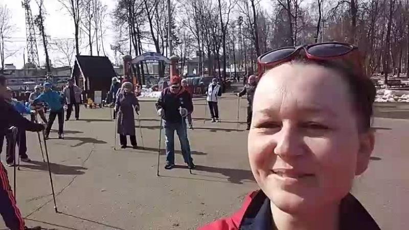 день здоровья в Александровском саду