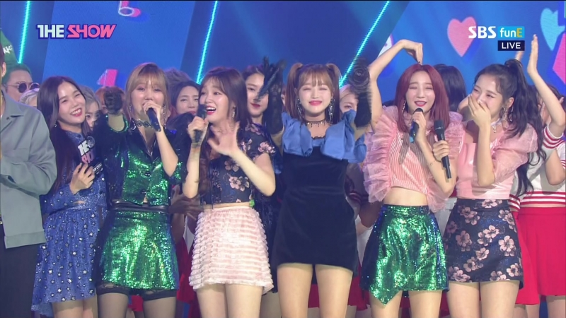 · Encore · 180918 · OH MY GIRL · SBS MTV The Show ·