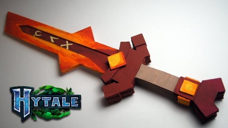 🔥 Как сделать Огненный меч из Hytale | How to make Hytale Fire Sword | Hytale 🔥
