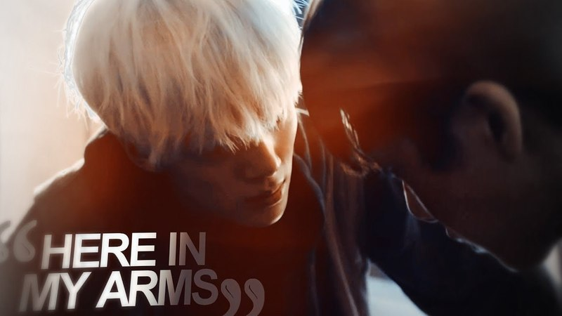 Minhyuk x Hyungwon || HERE IN MY ARMS