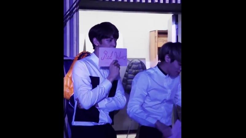 150325 Jonghyun Minho reaction Red Velvets Ice Cream Cake