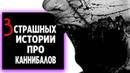 3 СТРАШНЫХ ИСТОРИИ ПРО КАННИБАЛОВ. Ужасы. Страшные истории. Триллер.