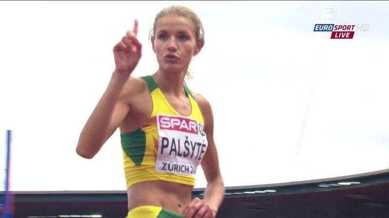 Airine Palsyte High Jump Q 22nd European Athletics Championships Zurich 2014