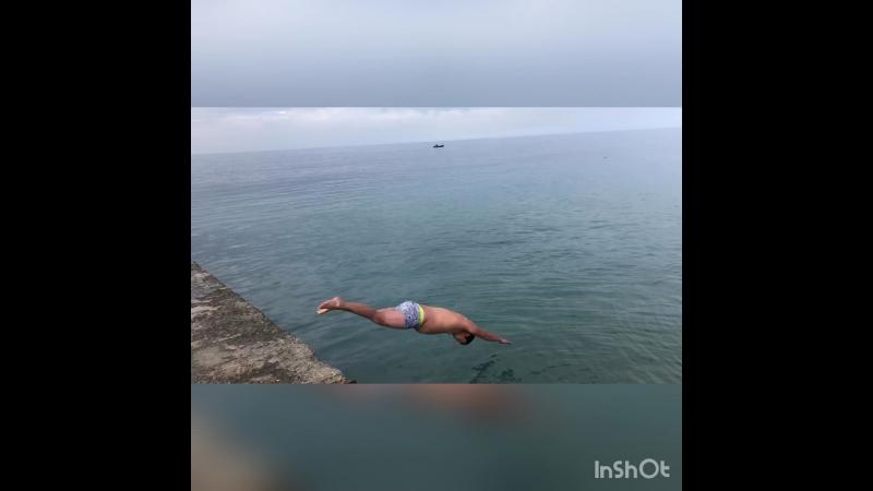 Закрытие купального сезона!Крым(3 декабря 2017)