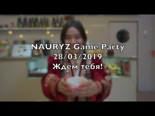 Nauryz game party - 28/03/19 - next esentai