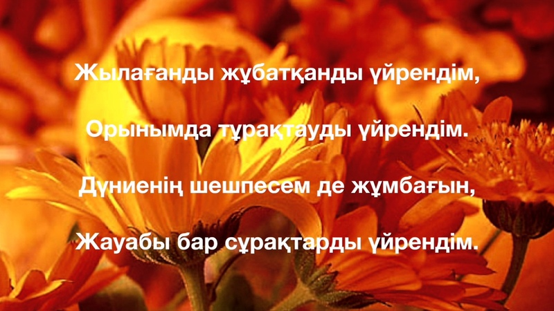 Үйрендім Сәнді Ақылай Оқыған Бауыржан Сапаров