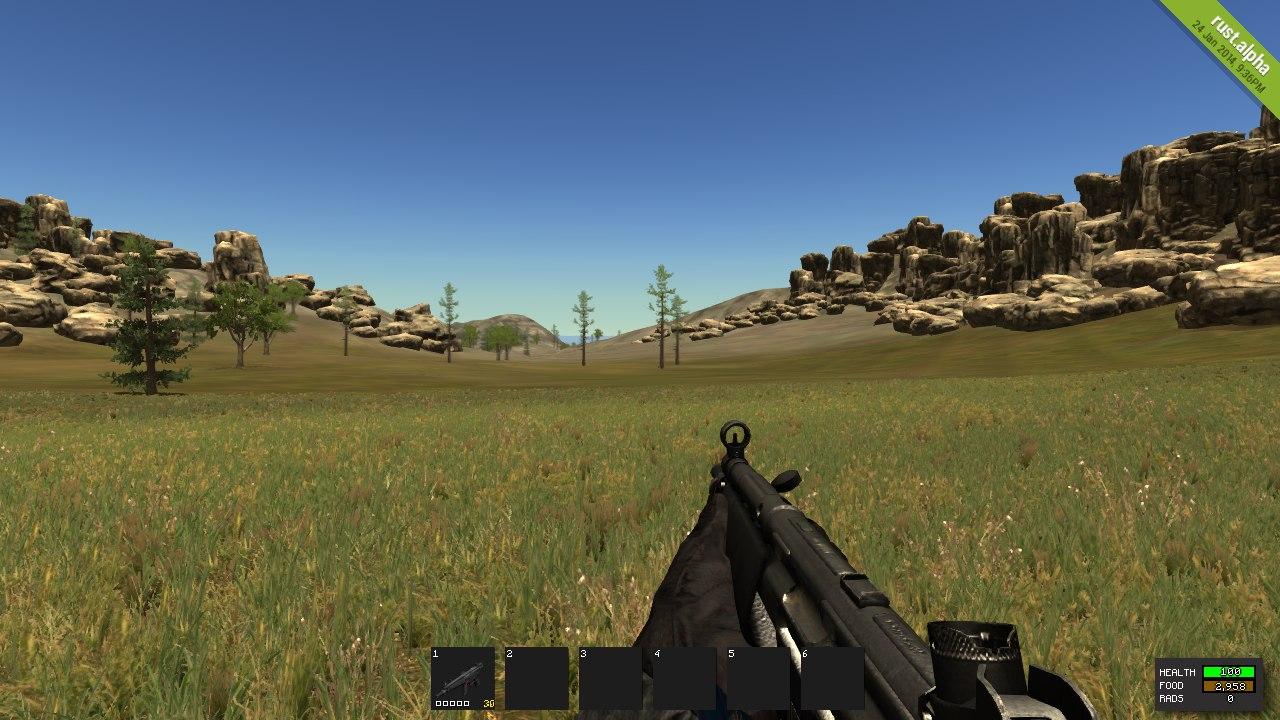Как выглядит MP5A4 в Rust