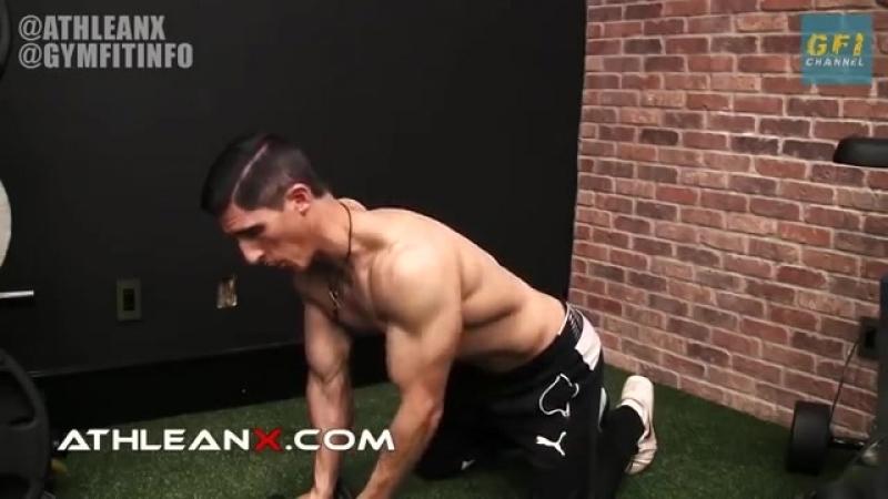 Интенсивная 3 х минутная тренировка плеч ПОПРОБУЙ СДЕЛАТЬ