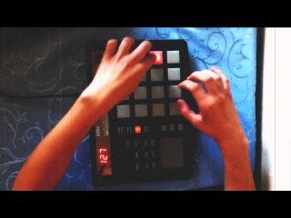 Bombey(skyRec) production on Korg padKontrol - Dark Jazz 2, White nigga's beat