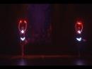 Творческий проект Raven Дуэт Световое шоу балерины