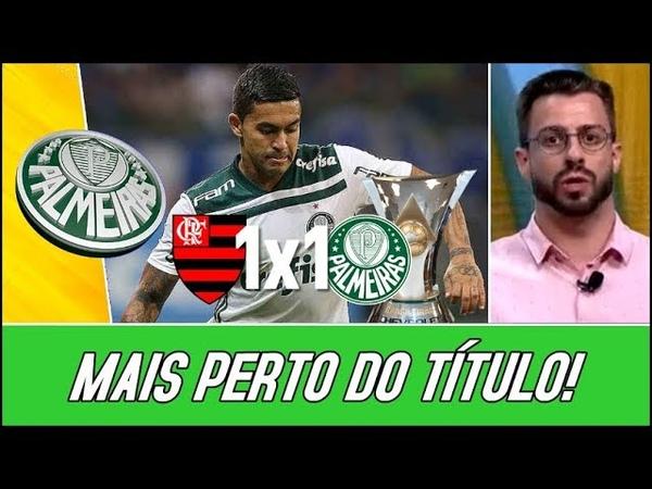Palmeiras Empata Com o Flamengo e Segue Com Vantagem na Liderança - RF |27/10/2018|