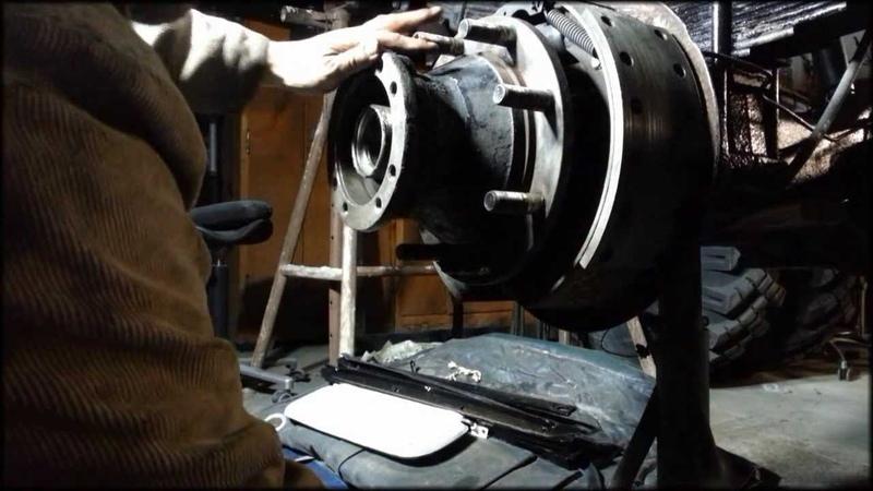 Die IFA Garage Projekt IFA W50 Überholung Neue Radlager Teil 5
