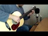 Blues Cold Comfort on Acoustic Guitar - Блюз на акустической гитаре