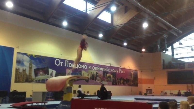 Минаева Мария - прыжок - Многоборье | Minaeva Maria - VT