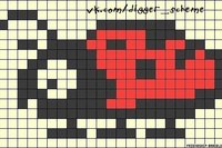 Копатель Онлайн (схемы для пиксель артов)) .