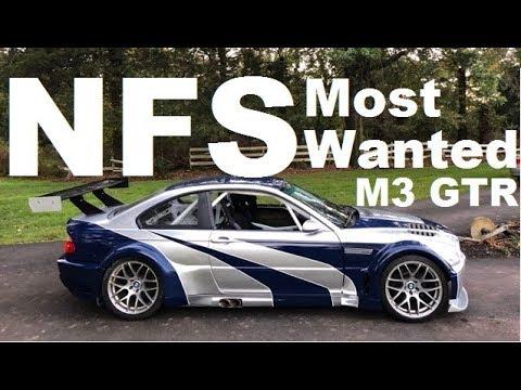 NFSMW M3 GTR Full Build Timelapse