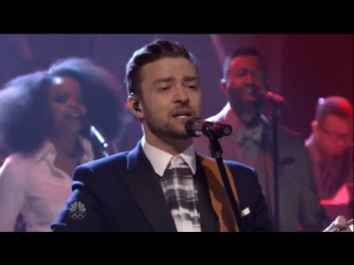 Justin Timberlake -— Not A Bad Thing (The Tonight Show Starring Jimmy Fallon)