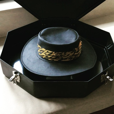 """Ashley Reeve on Instagram """"You can only have one husband, but you can have many hats. Finally picked up an industrial strength hat box....it had t..."""