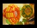 Как сделать огромные бумажные цветы