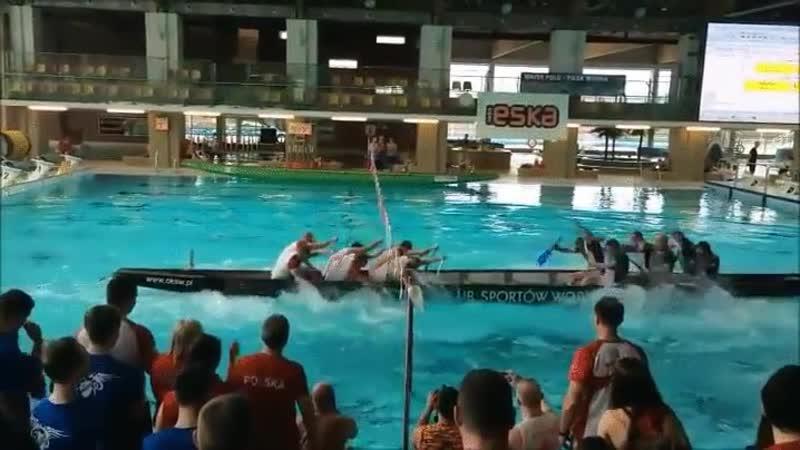 Polish Dragon Boat Rowing Tug of Oar edition