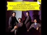 Emerson String Quartet @ WEBERN (49) 6 Bagatelles Op.9 (1913)