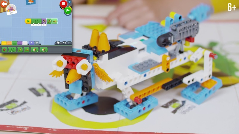 Свободное творчество с Lego Boost