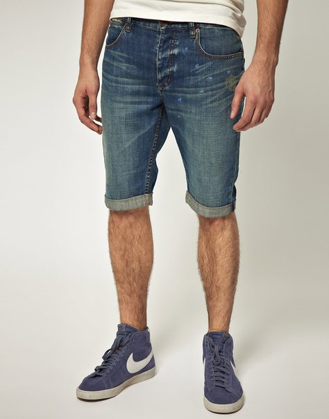 Шорты мужские из джинс своими руками