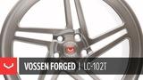 Vossen Forged LC-102T Wheel Platinum