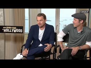 Rus.sub: leonardo dicaprio & brad pitt: cannes film festival interview