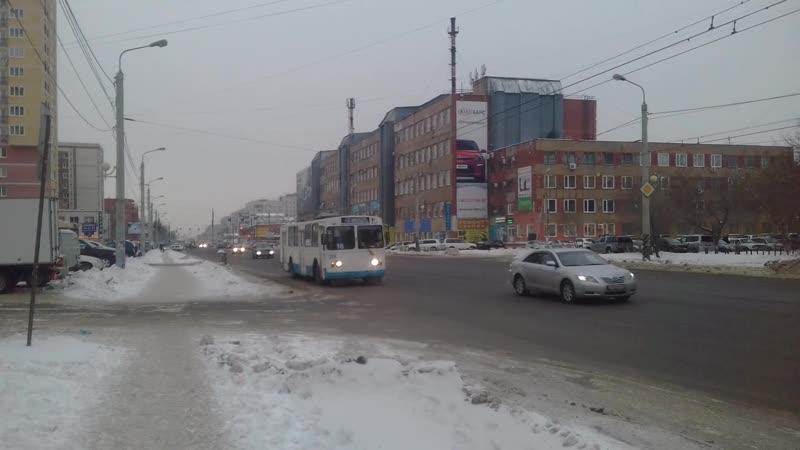 троллейбус омск