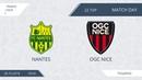 AFL18. France. Ligue 1. Day 22. Nantes - Nice