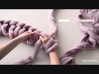 Как связать плед своими руками