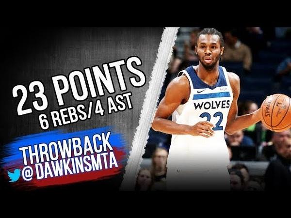 Andrew Wiggins Full Highlights 2018.11.14 vs Pelicans - 23 Pts, 6 Rebs, 4 Ast   FreeDawkins