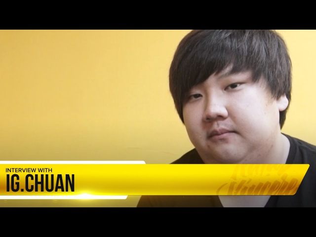 Quick interview with iG.ChuaN before Grand Finals @ Major All Stars (с РУССКИМИ субтитрами)