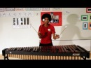 Super Mario Bros on Marimba with 4 Mallets by Aaron Grooves