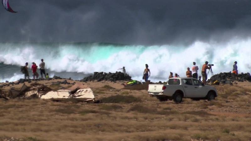 Ponta Preta Super Sunday at Cabo Verde kitesurfing