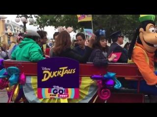 The Doctor Friends! DuckTales DoctorWho DisneyChannelFanFest