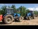 Трактор Беларус 1221 против Трактор Беларус 1221 тест драйв 2019