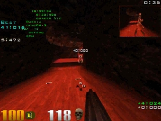 Quake III: Arena. Defrag map - Dfwco4-3 by Victorin.