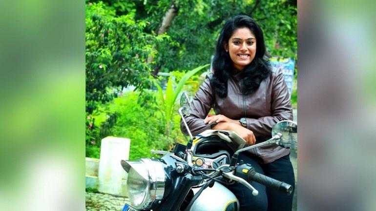 Ахкита МД - леди стантрайдер из Индии