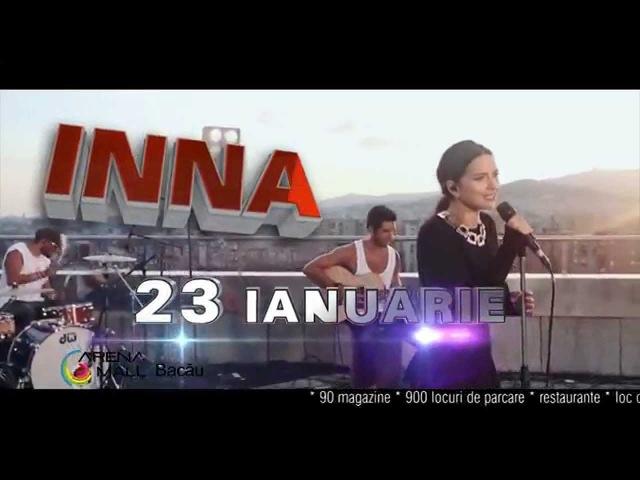 INNA in Arena Mall vineri 23 ianuarie 2015 CONCERT LIVE SESIUNE DE AUTOGRAFE