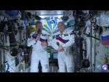 Поздравление из космоса с Днём воздушного флота России. С праздником!