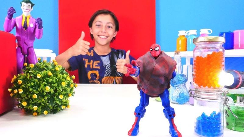 Spiderman için güç yeleği yapıyoruz. Joker oyunu
