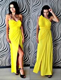 Платья трансформеры желтые
