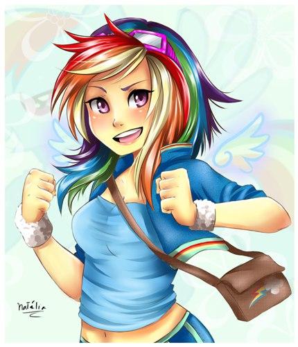 Радуга Дэш Спасатель (Rainbow Dash Rescue)