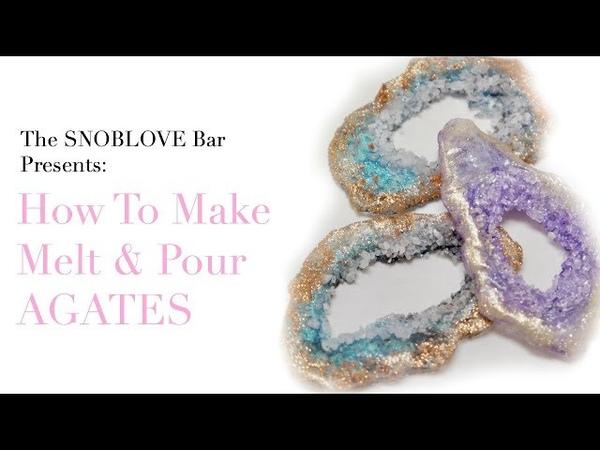 How to make Melt Pour Agates