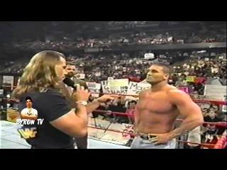 hbk and ken shamrock on Raw funny segment