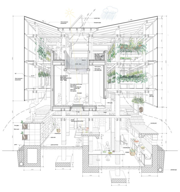 Nest We Grow | College of Environmental Design UC Berkeley   Kengo Kuma